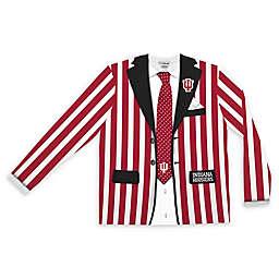 Indiana University Men's Striped Faux Suit Long Sleeve T-Shirt