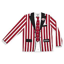 University of Arkansas Men's Striped Faux Suit Long Sleeve T-Shirt