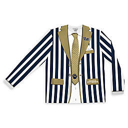 University of Pittsburgh Men's Striped Faux Suit Long Sleeve T-Shirt