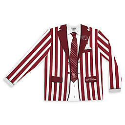 University of South Carolina Men's Striped Faux Suit Long Sleeve T-Shirt