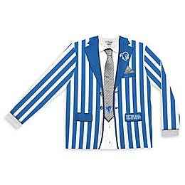 Seton Hall University Men's Striped Faux Suit Long Sleeve T-Shirt