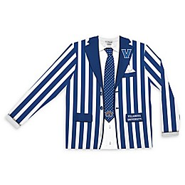 Villanova University Men's Striped Faux Suit Long Sleeve T-Shirt