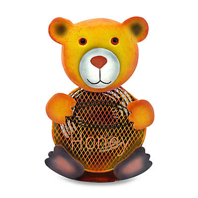 Himalayan Breeze Large Decorative Bear Fan