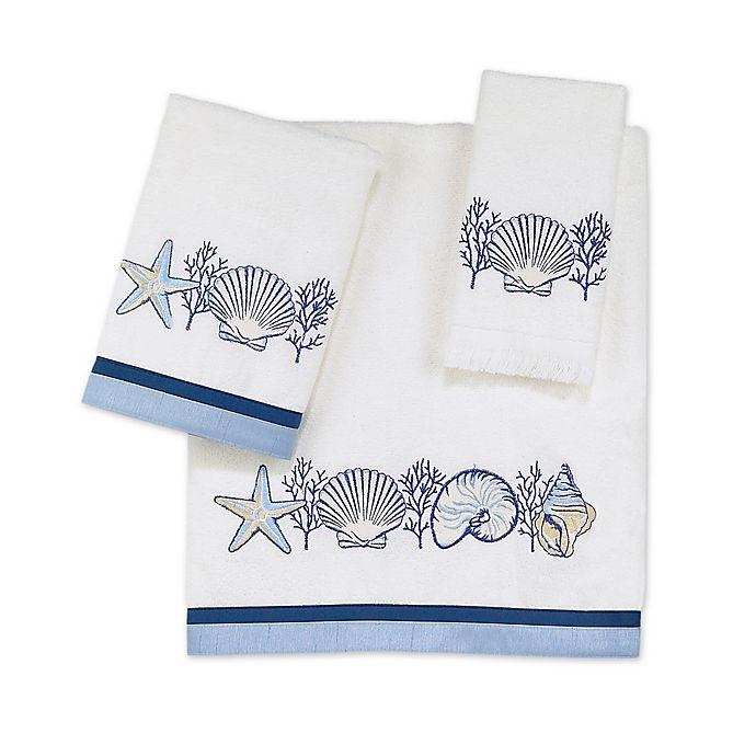 Alternate image 1 for Avanti Nassau Bath Towel Collection in White