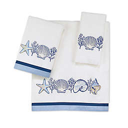 Avanti Nassau Bath Towel Collection in White