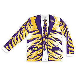 LSU Men's Faux Tiger Skin Suit Long Sleeve T-Shirt