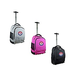 MLB 19-Inch Wheeled Backpack