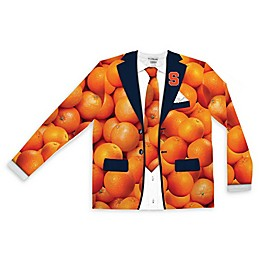 Syracuse University Men's Faux Oranges Suit Long Sleeve T-Shirt