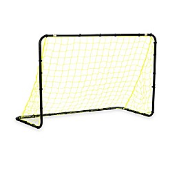 Franklin® Sports 4-Foot x 6-Foot Black Steel Soccer Goal in Yellow/Black