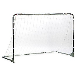 Franklin® Sports Galvanized Steel Folding Soccer Goal in White/Black