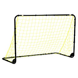 Franklin® Sports Powder-Coated Steel Folding Soccer Goal in Yellow/Black
