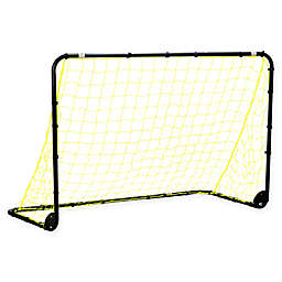Franklin® Sports Powder-Coated Steel Folding Soccer Goal in Yellow/Black
