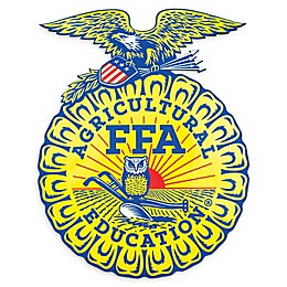 FFA Agricultural Education Logo Outdoor Decal