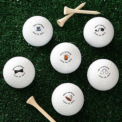 Groom's Last Round Golf Balls (Set of 12)