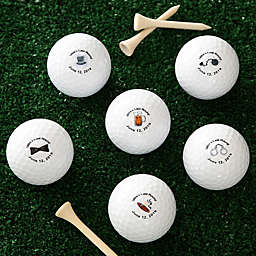 Groom's Last Round Golf Balls (Set of 12)