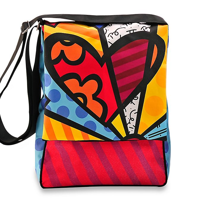 fff2a2da0282 Britto™ by Giftcraft Heart Messenger Bag | Bed Bath & Beyond