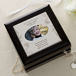 In Loving Memory Photo Jewelry Box