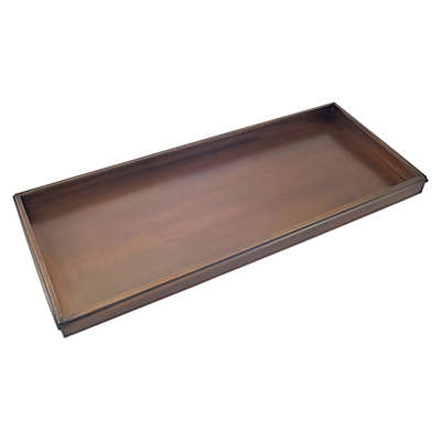 Good Directions Classic Shoe Tray in Copper