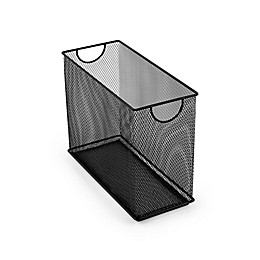 Mesh Tabletop File Holder in Black