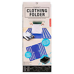 Kikkerland Design™ Compact Clothing Folder in Blue