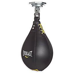 Everlast® Leather Medium Speed Bag in Black