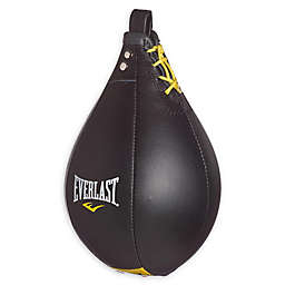 Everlast® Leather Large Speed Bag in Black