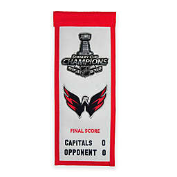 Winning Streak Washington Capitals 14-Inch x 22-Inch Fabric Wall Art in Red