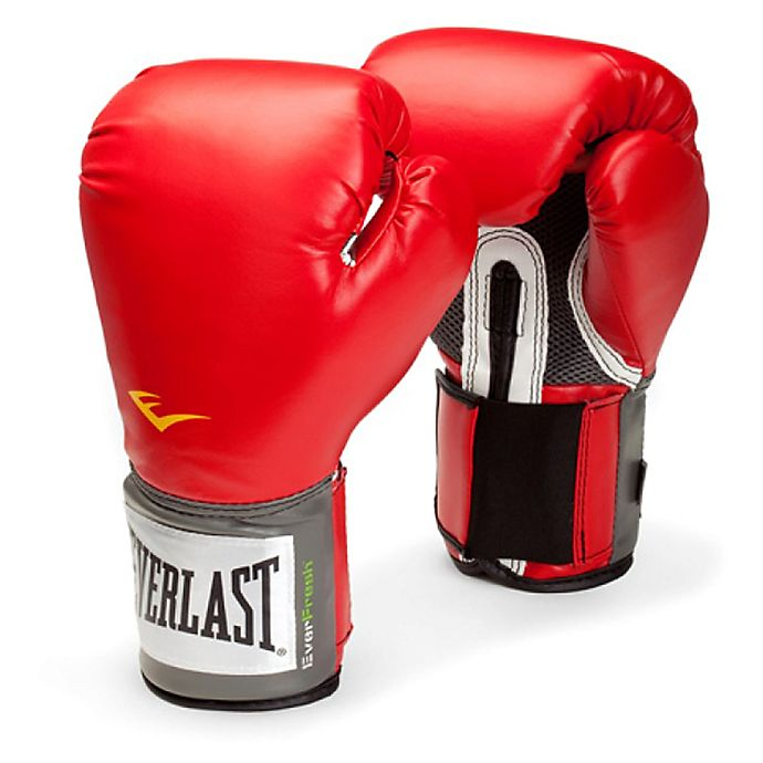 Alternate image 1 for Franklin® Pro Style Training Boxing Gloves in Red