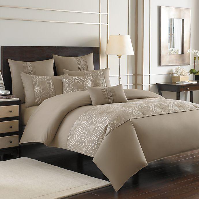 Nicole Miller Westwood Duvet Cover 100 Cotton Bed Bath Beyond