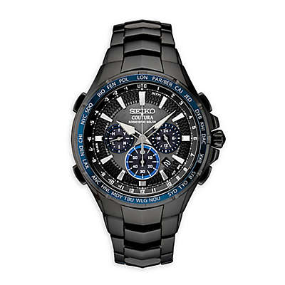 Seiko Coutura Men's 44.5mm SSG021 Radio Sync Solar Chronograph Watch