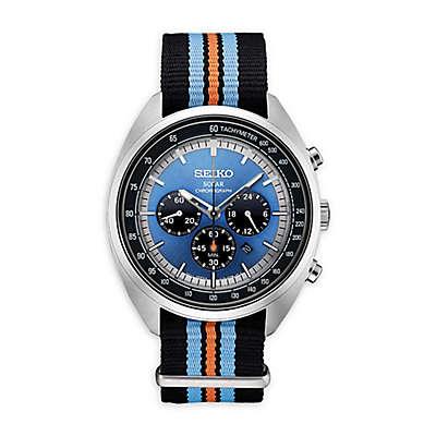 Seiko Recraft Men's 43.5mm SSC667 Solar Chronograph Watch