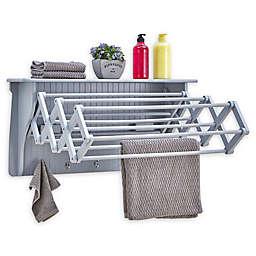 Danya B. Accordian Drying Rack in Grey