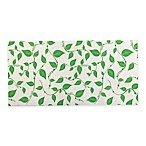 The Original 3-Pack Refrigerator Shelf Bin Liners in White/Green