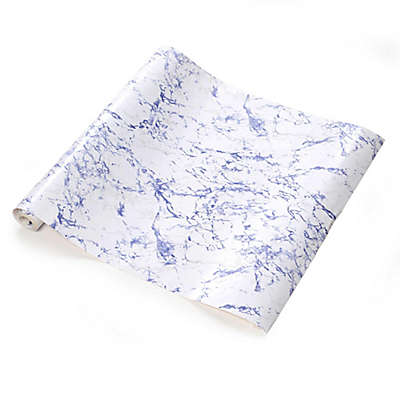 Con-Tact® Self-Adhesive Creative Covering™ Shelf Liner in Blue Marble