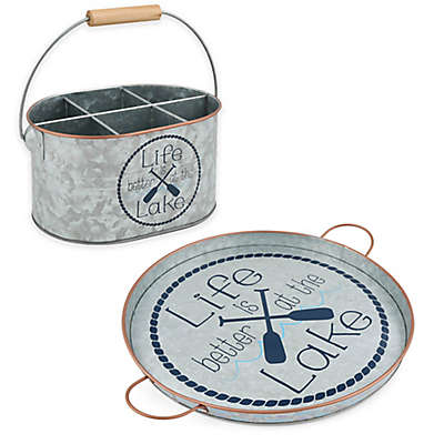 Thirstystone® Galvanized Serveware Collection