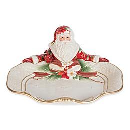 Fitz and Floyd® Cardinal Christmas Santa Server