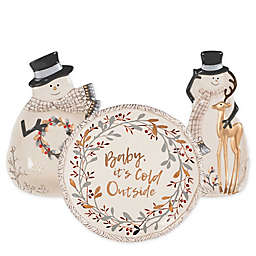 Fitz and Floyd® Wintry Woods Christmas Serveware Collection