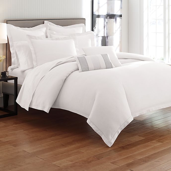 Bellora Linen White Duvet Cover, 100% Linen | Bed Bath & Beyond