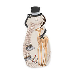 Fitz and Floyd® Wintry Woods Snowman Spoon Rest
