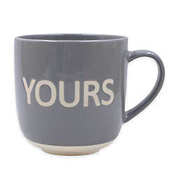 """Yours"" Mug in Grey"