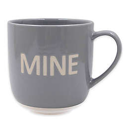 """Mine"" Mug in Grey"
