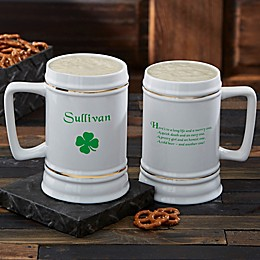 Irish Quotes Beer Stein