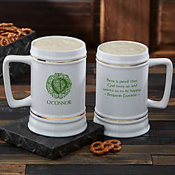 Famous Celtic Quotes Beer Stein