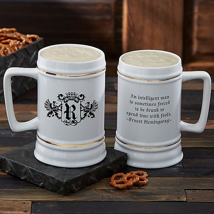 Alternate image 1 for Famous Quotes Beer Stein