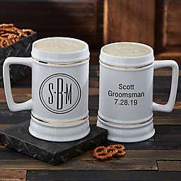 Cheers to the Groomsmen Beer Stein
