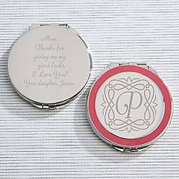 Enchanting Mother Engraved Compact Mirror