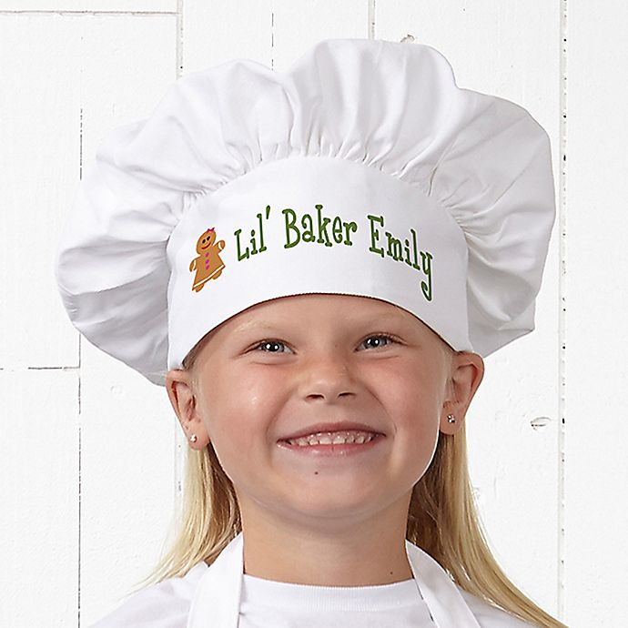 Alternate image 1 for Lil' Christmas Baker Youth Chef Hat