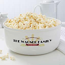 Movie Night Snack Bowl