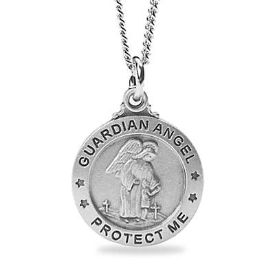 Guardian Angel 18-Inch Children's Pendant