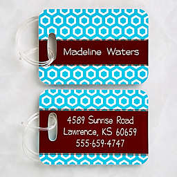 Her Design Luggage Tags (Set of 2)